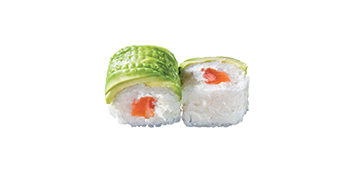 AVOCADO ROLLS SAUMON CHEESE